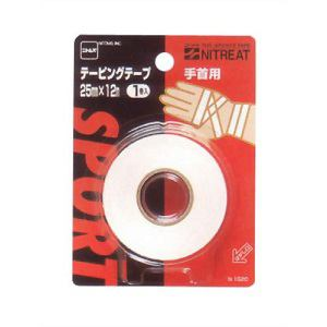 ニトムズ ニトリート テーピングテープ手首用25 【スポーツ用テーピング】