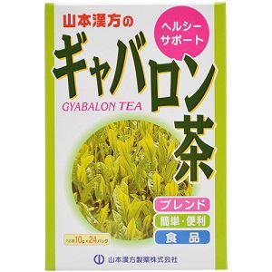 山本漢方のギャバロン茶 10g×24包 【健康補助】