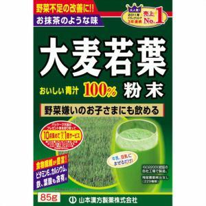 山本漢方製薬 大麦若葉粉末100% (85g) 【健康補助食品】