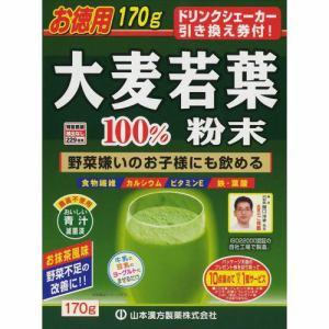 山本漢方製薬 大麦若葉粉末100% (170g) 【健康食品】