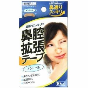 川本産業 鼻腔拡張テープ メントール 10枚入り 【衛生用品】