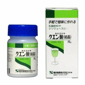 健栄製薬 ケンエー クエン酸 (25g) 【栄養補助】