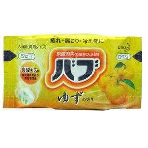 花王 バブ ゆずの香り (1錠入)  【日用消耗品】