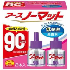 アース製薬 アース ノーマット 90日用 取替えボトル 無香料 2本入