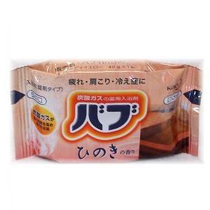 花王 バブ  ひのきの香り (1錠入) 【日用消耗品】