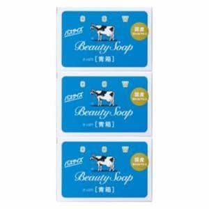 牛乳石鹸 カウブランド 青箱 バスサイズ 135g×3個入 【日用消耗品】