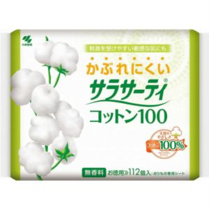 小林製薬 サラサーティコットン100 お徳用 112枚 【日用消耗品】