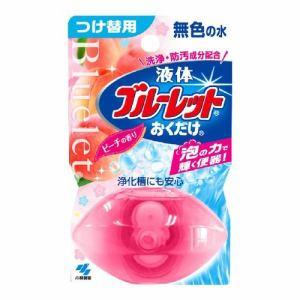 小林製薬 液体ブルーレットおくだけ ピーチの香り 無色の水 つけ替用 【日用消耗品】