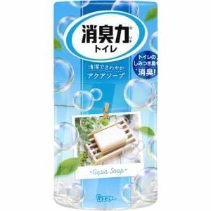 エステー トイレの消臭力 アクアソープ400ml 【日用消耗品】