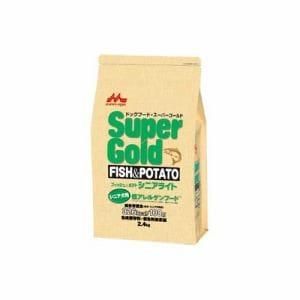 森乳サンワールド スーパーゴールド フィッシュ&ポテト シニアライト シニア犬用 低アレルゲンフード 800g