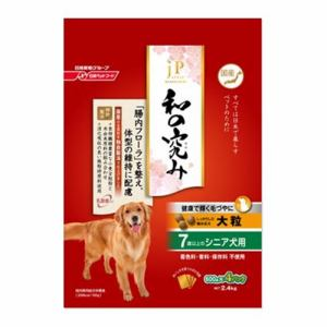 日清ペットフード ジェーピースタイル 和の究み 大粒 7歳以上のシニア犬用 4.8kg(600gx8袋)