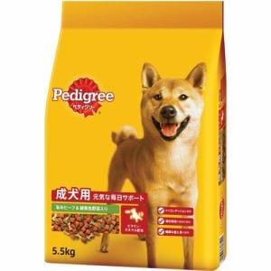 マース ペディグリー ドライ 成犬用 ビーフ&緑黄色野菜入り 5.5kg