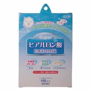 東京企画販売 トプラン スーパーヒアルロン酸フェイスマスク 5枚入り