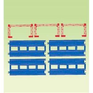 タカラトミー プラレール R-04 複線直線