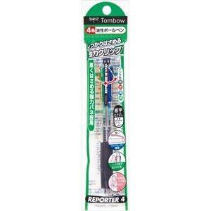 トンボ鉛筆 4色ボールペン リポーター4