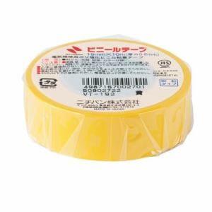 ニチバン VT-192 ビニールテープ   黄