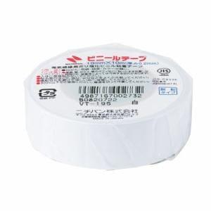 ニチバン VT-195 ビニールテープ   白