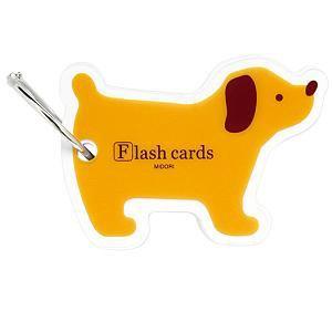 デザインフィル 34194006 MIDORI 単語カード イヌ柄