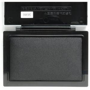 三菱鉛筆 HSP2F.24 スタンプ台   黒