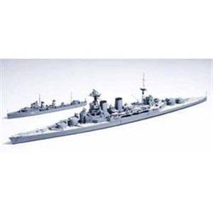 タミヤ 1/700 イギリス海軍巡洋戦艦フッド & E級駆逐艦 北大西洋追撃作戦 ※ご注文後のご手配となります。