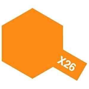 タミヤ タミヤカラー アクリルミニ X-26 クリヤーオレンジ