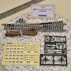 トミックス (N) 1272 電動ポイント N-PL541-15(F) 完全選択式 左分岐タイプ