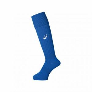 アシックス XSS098 45 22 Jr.ストッキング アシックス サッカー 22cm ブルー