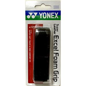 ヨネックス AC125 スーパーレザーエクセルフォームグリップ   ブラック