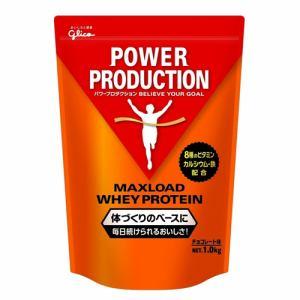 グリコ 76012 マックスロード ホエイプロテイン チョコレート味 1.0kg パワープロダクション 1.0kg