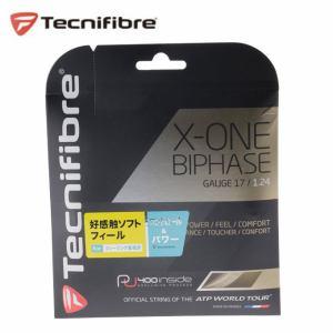 テクニファイバー TECNIFIBRE 硬式テニスガット X-ONEバイフェイズ124 TFG901 テニスストリング ガット