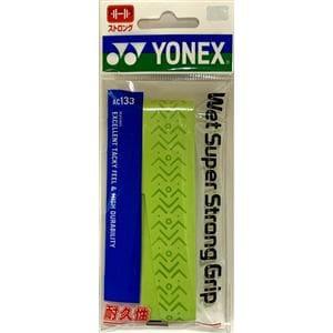 ヨネックス AC133 ウェットスーパーストロンググリップ(1本入)   ブライトグリーン