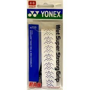 ヨネックス AC133 ウェットスーパーストロンググリップ(1本入)   ホワイト