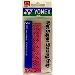 ヨネックス AC133 ウェットスーパーストロンググリップ(1本入)   ピンク