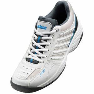 グローブライド プリンス DPS615 203 テニスシューズ(オールコート用) メンズ 23.5cm ホワイト/グレー