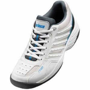 グローブライド プリンス DPS615 203 テニスシューズ(オールコート用) メンズ 24.5cm ホワイト/グレー