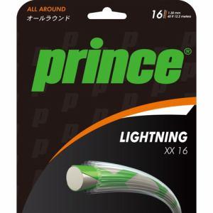 グローブライド 7J398 LIGHTNING XX(ライトニングXX) テニスストリング 16ゲージ prince(プリンス) 12.2m レッド(147)
