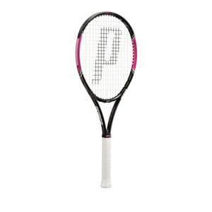 グローブライド 7TJ034 POWER LINE LADY 100(パワーラインレディ100) テニスラケット グリップサイズ1 ストリング張上げモデル 専用フルケース付き prince(プリンス) POWER LINEシリーズ  ブラック×マゼンタ