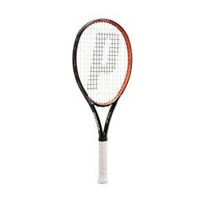 グローブライド 7TJ049 TOUR26(ツアー26) テニスラケット グリップサイズ0(4) ストリング張上げモデル 専用フルケース付き prince(プリンス) キッズ&ジュニア  ブラック×オレンジ