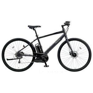パナソニック 700×38C型 電動アシスト自転車 ジェッター(マットチャコールブラック/490サイズ/外装8段変速)BE-ELHC49AB【2018年モデル】
