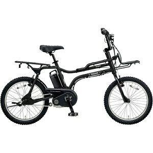 パナソニック 20型 電動アシスト自転車 イーゼット(マットナイト/内装3段変速) BE-ELZ032AB【2018年モデル】