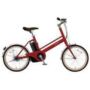 パナソニック 20型 電動アシスト自転車 Jコンセプト(紅緋:レッドリーブス/シングルシフト)BE-JELJ01AR【2018年モデル】