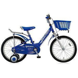 ブリヂストン 16型 幼児用自転車 エコキッズスポーツ(ブルー/シングルシフト) EK16S6