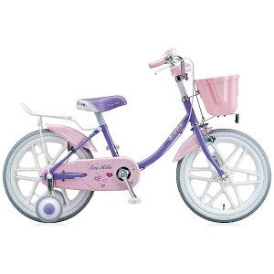 ブリヂストン 18型 幼児用自転車 エコキッズカラフル(ラベンダー&ピンク/シングルシフト) EK18C6