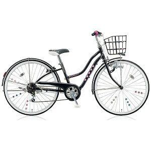 ブリヂストン 24型 子供用自転車 ワイルドベリー(ブラックパンサー/6段変速) WB466