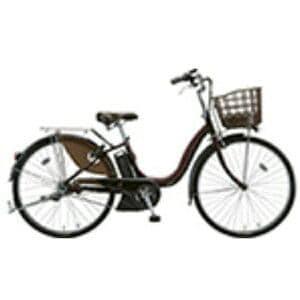 ブリヂストン 24型 電動アシスト自転車 アシスタDX(F.X カラメルブラウン) A4DC39【2018年モデル】