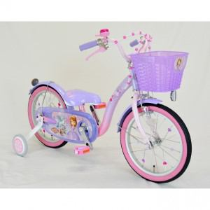 アイデス 子供用自転車 16インチ ちいさなプリンセスソフィア&スカイ