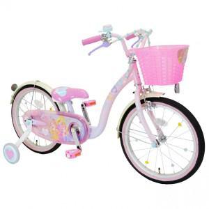 アイデス 子供用自転車 16インチ プリンセス ゆめカワ