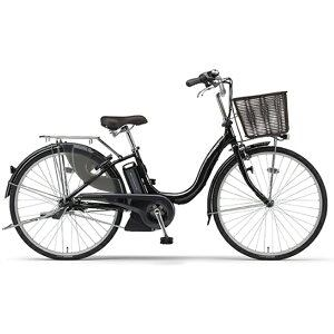 ヤマハ 26型 電動アシスト自転車 PAS ナチュラ M(クリスタルブラック/内装3段変速)PA26CGNM9J【2019年モデル】