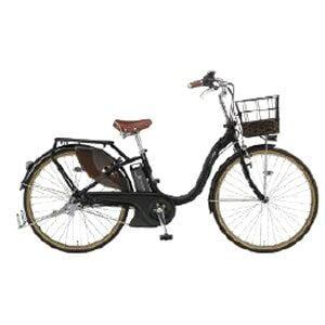 ヤマハ 24型 電動アシスト自転車 PAS With DX(マットブラック2/内装3段変速)PA24BGWD9【2019年モデル】