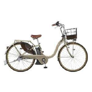 ヤマハ 26型 電動アシスト自転車 PAS With DX(マットカフェベージュ/内装3段変速)PA26BGWD9【2019年モデル】